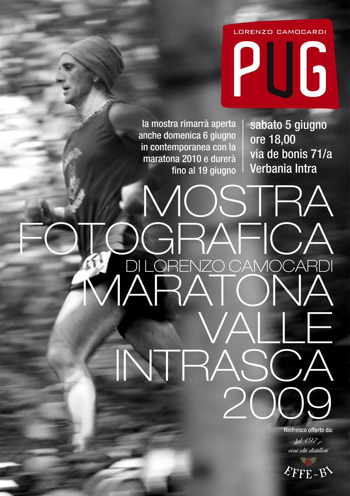 Mostra fotografica dedicata alla Maratona della Valle Intrsca