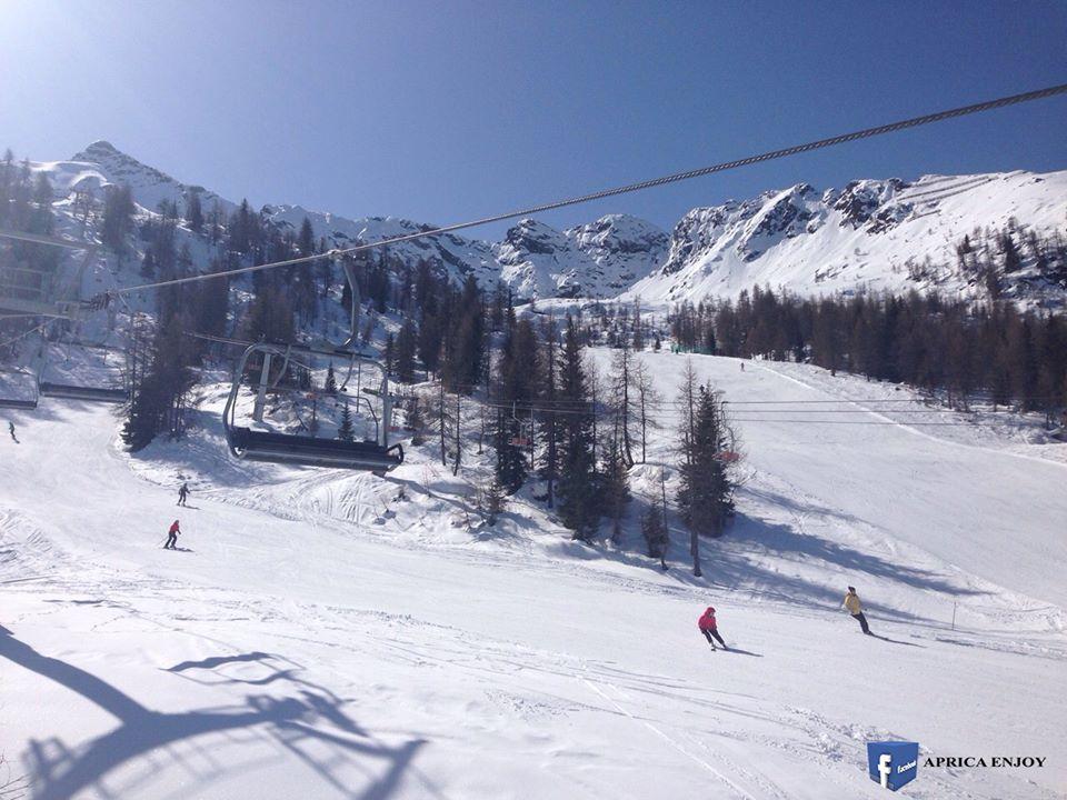 Belle fotografie con neve da Aprica Valtellina