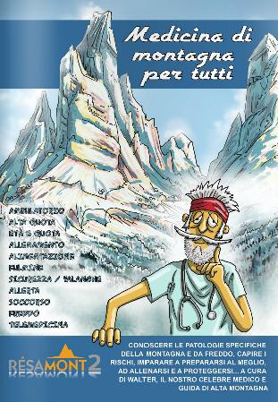 Medicina di Montagna per tutti: il fumetto