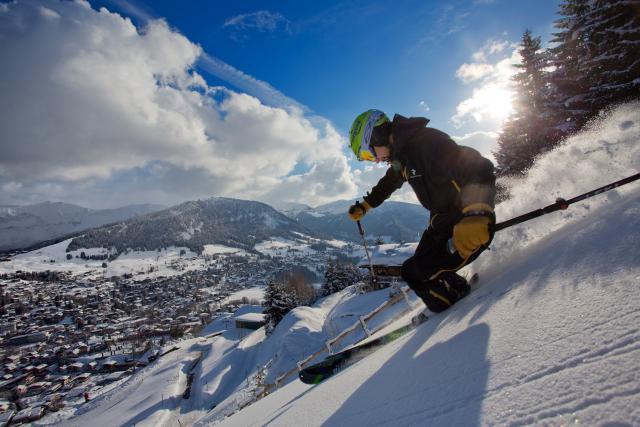 A Megève 80 anni di sci