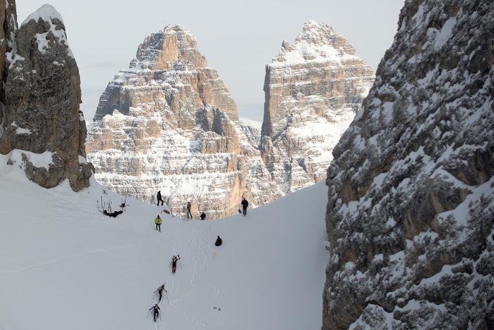 Coppa Italia Scialpinismo, Trofeo Scarpa: la Misurina Ski Raid a Eydallin e Pellissier
