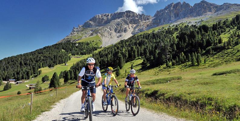 Vacanze in bicicletta in Val di Fiemme