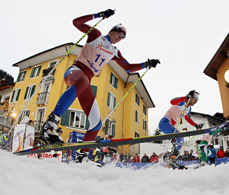 Il percorso della Ski Sprint Primiero Energia 2013