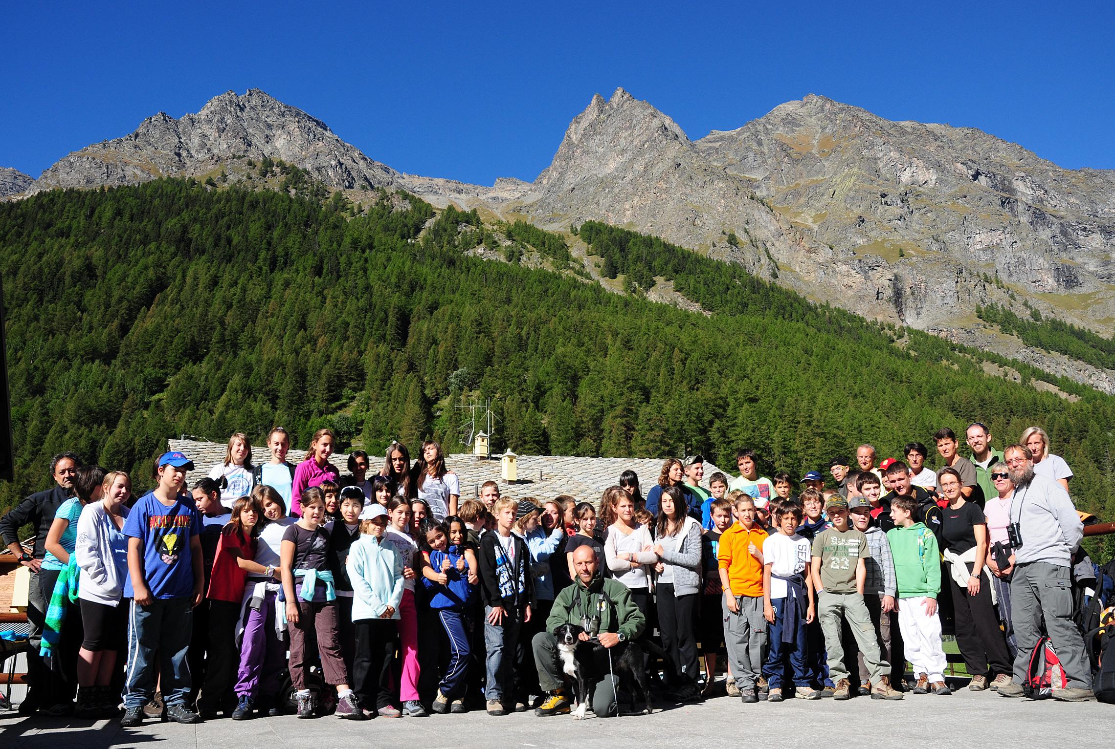Educazione ambientale nel Parco Nazionale Gran Paradiso