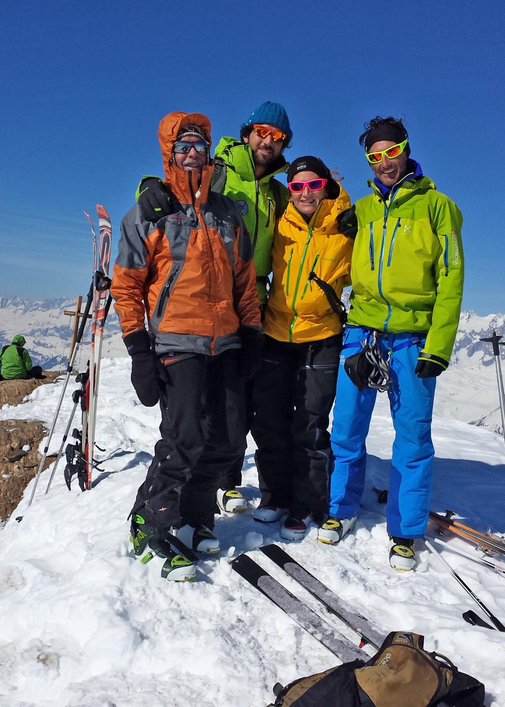 Conclusa la Trans Alp Walser-ski