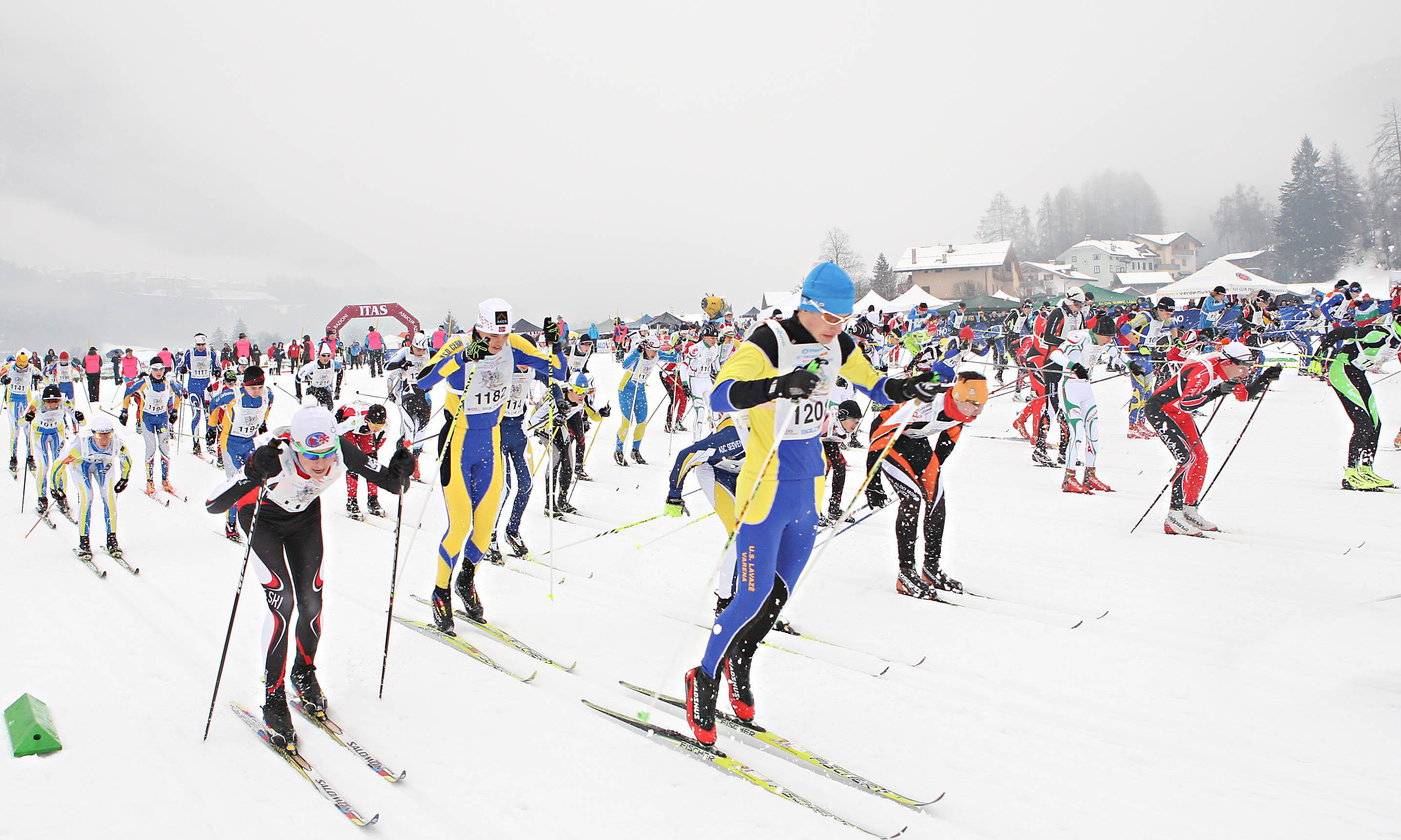 Il Trofeo Topolino Sci di Fondo in Val di Fiemme
