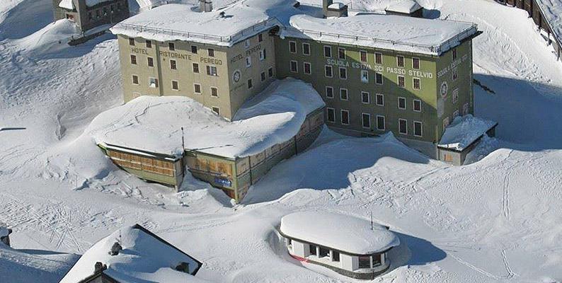 Passo Stelvio: dopo la grande la neve il grande ciclismo
