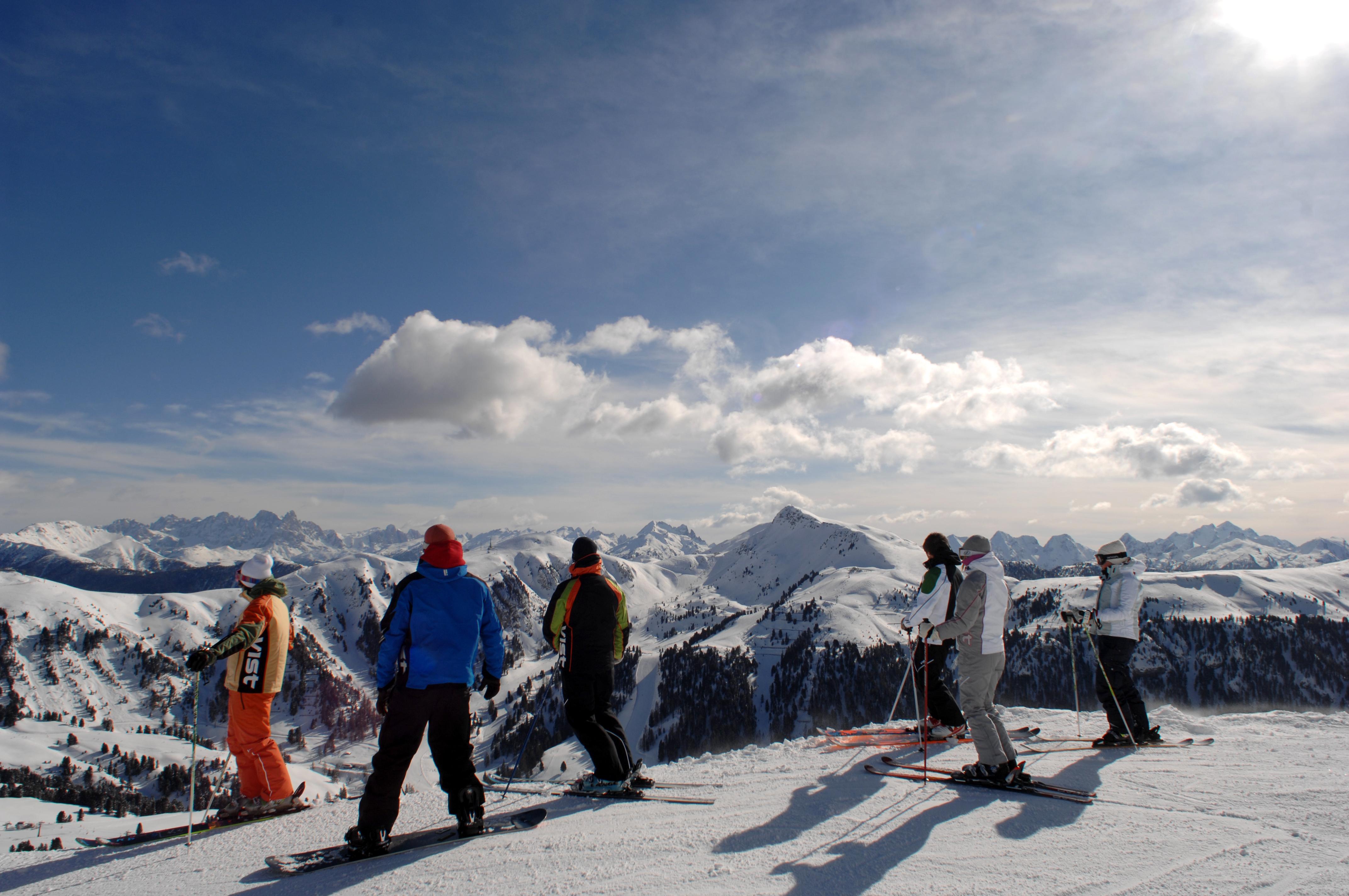 Sciare in Val di Fiemme: impianti aperti nello Ski Center Latemar