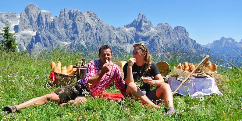 I formaggi delle Dolomiti