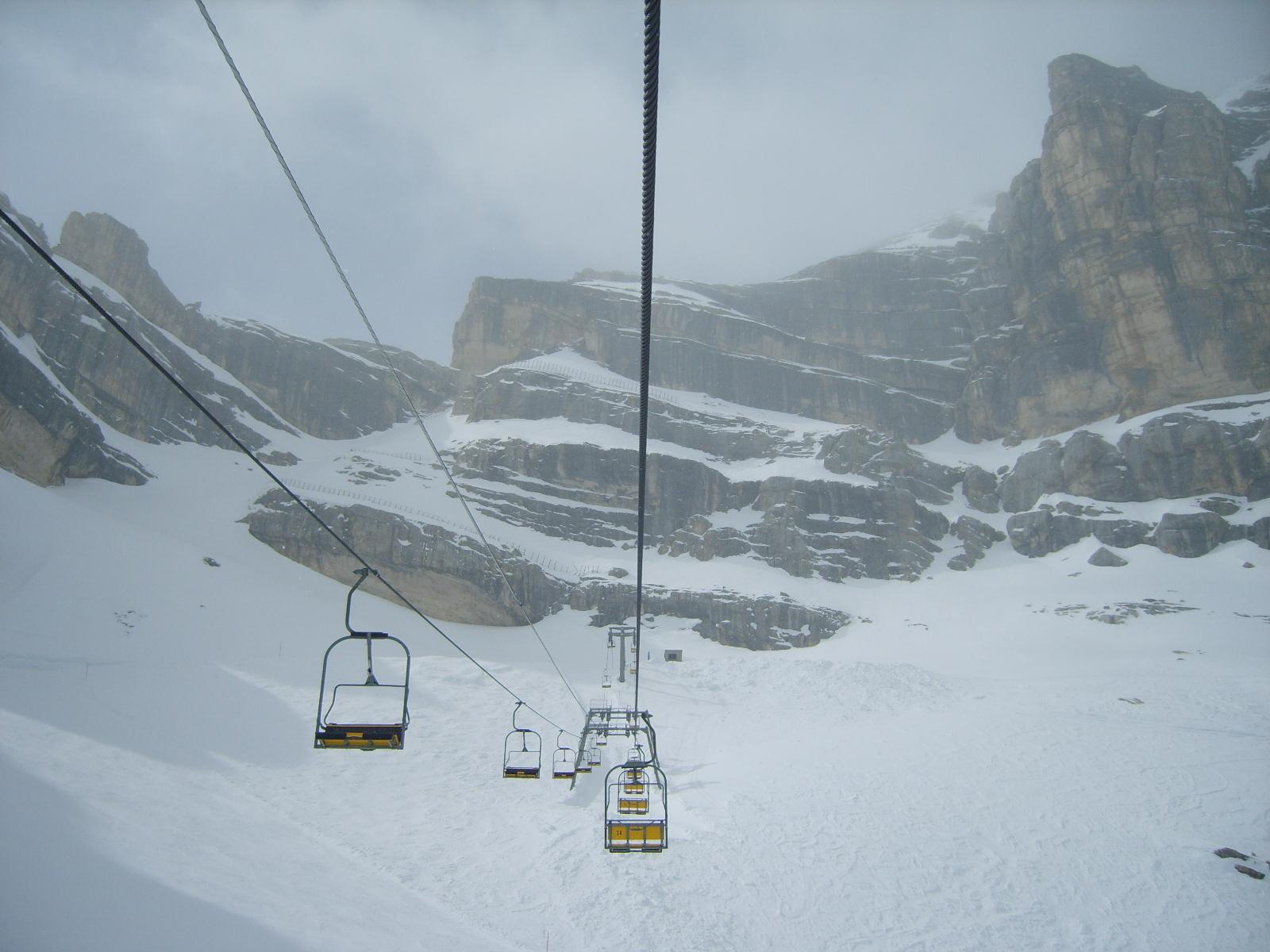 Sci estivo a Cortina d'Ampezzo