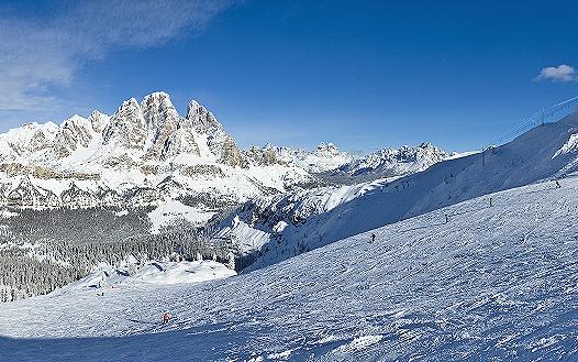 Si scia a Cortina d'Ampezzo