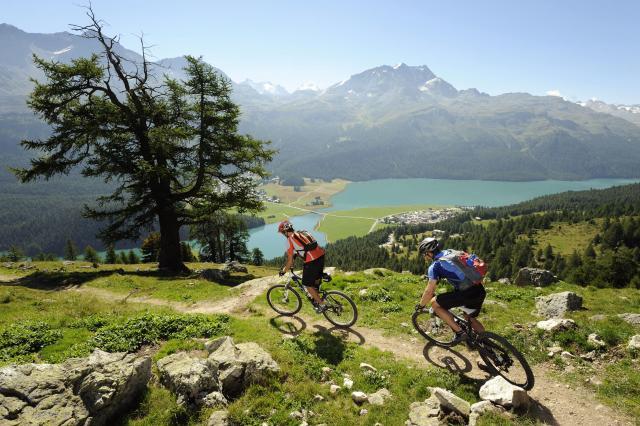 Mountain bike in Engadin St. Moritz