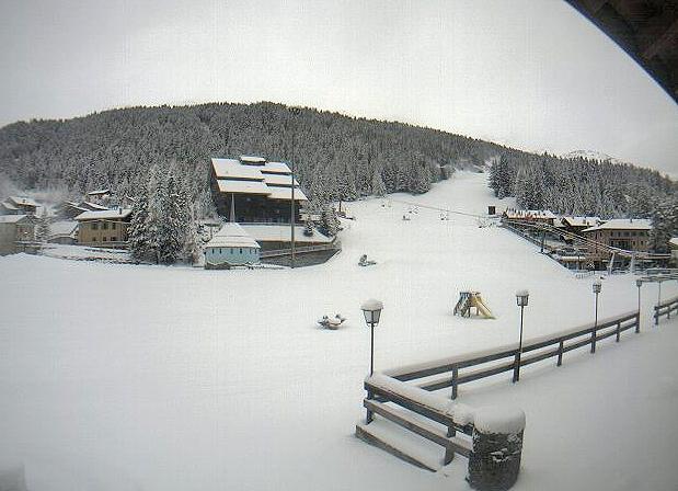 Prima neve sulle Alpi