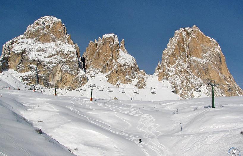 Neve in Val Gardena: piste aperte e Sellaronda agibile