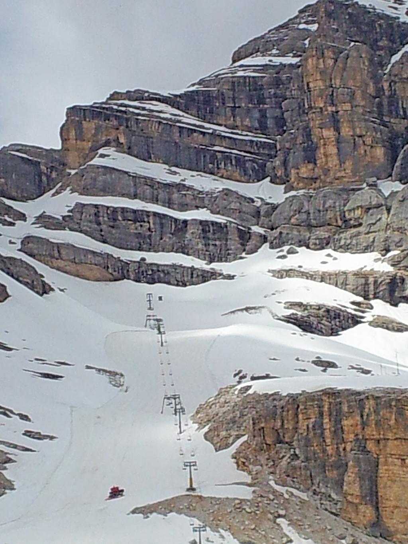 Sci estivo a Ra Valles a Cortina