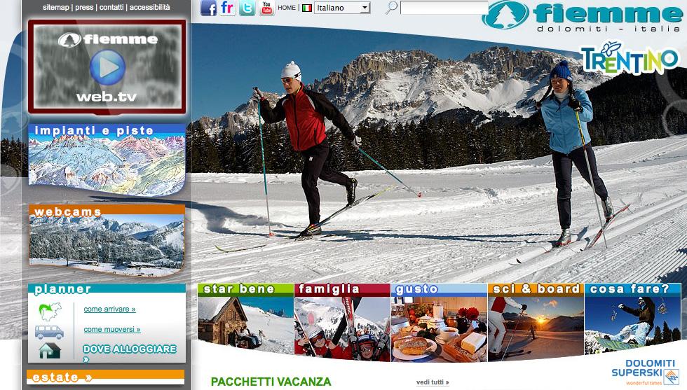Il sito internet www.visitfiemme.it si rinnova