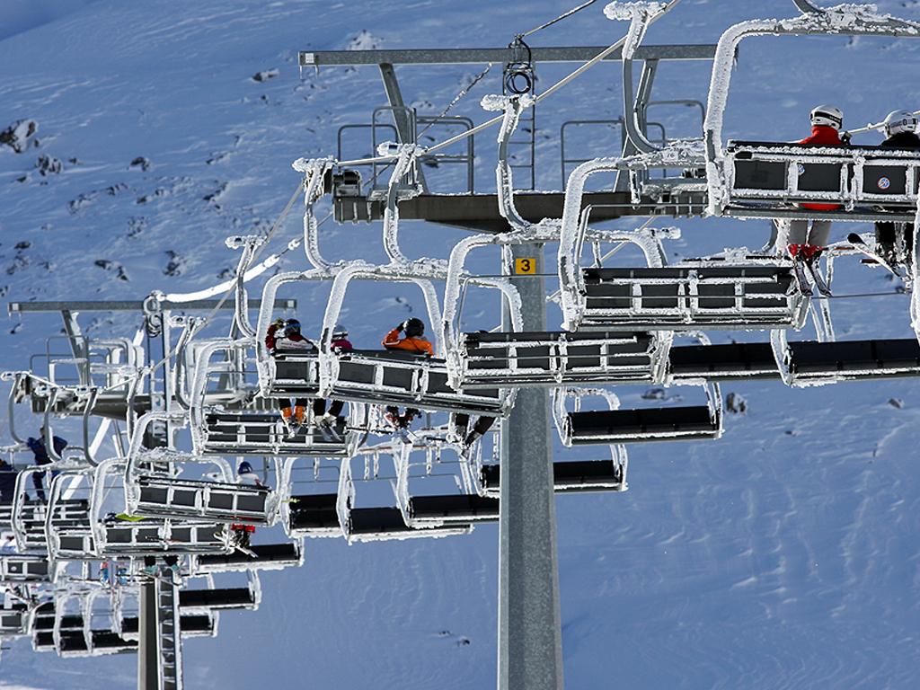 Sulle Alpi una neve da fine del mondo
