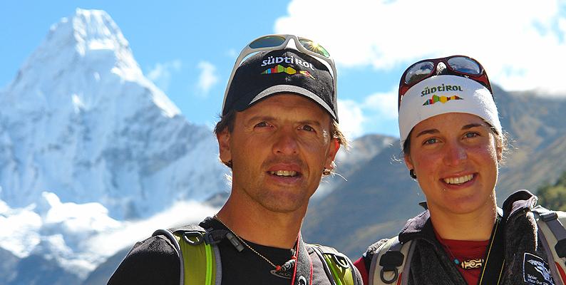 Alpinismo: Simone Moro e Tamara Lunger sul Manaslu