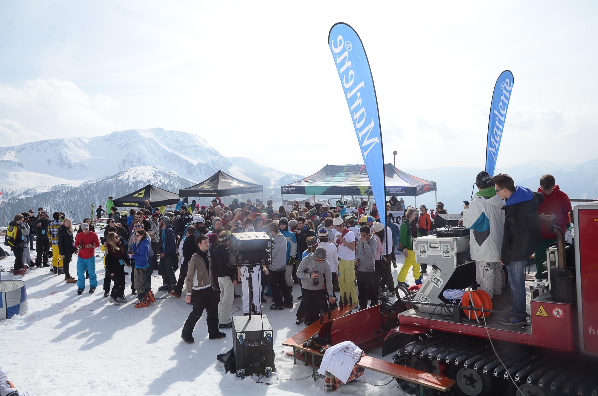 Snowdays: 500 universitari sulle nevi dell'Alto Adige