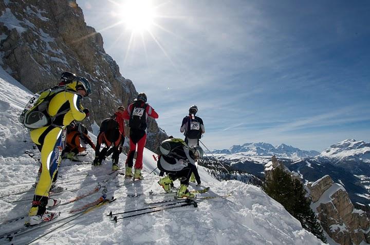 Alta Badia Tour de Sas, il tracciato è innevato