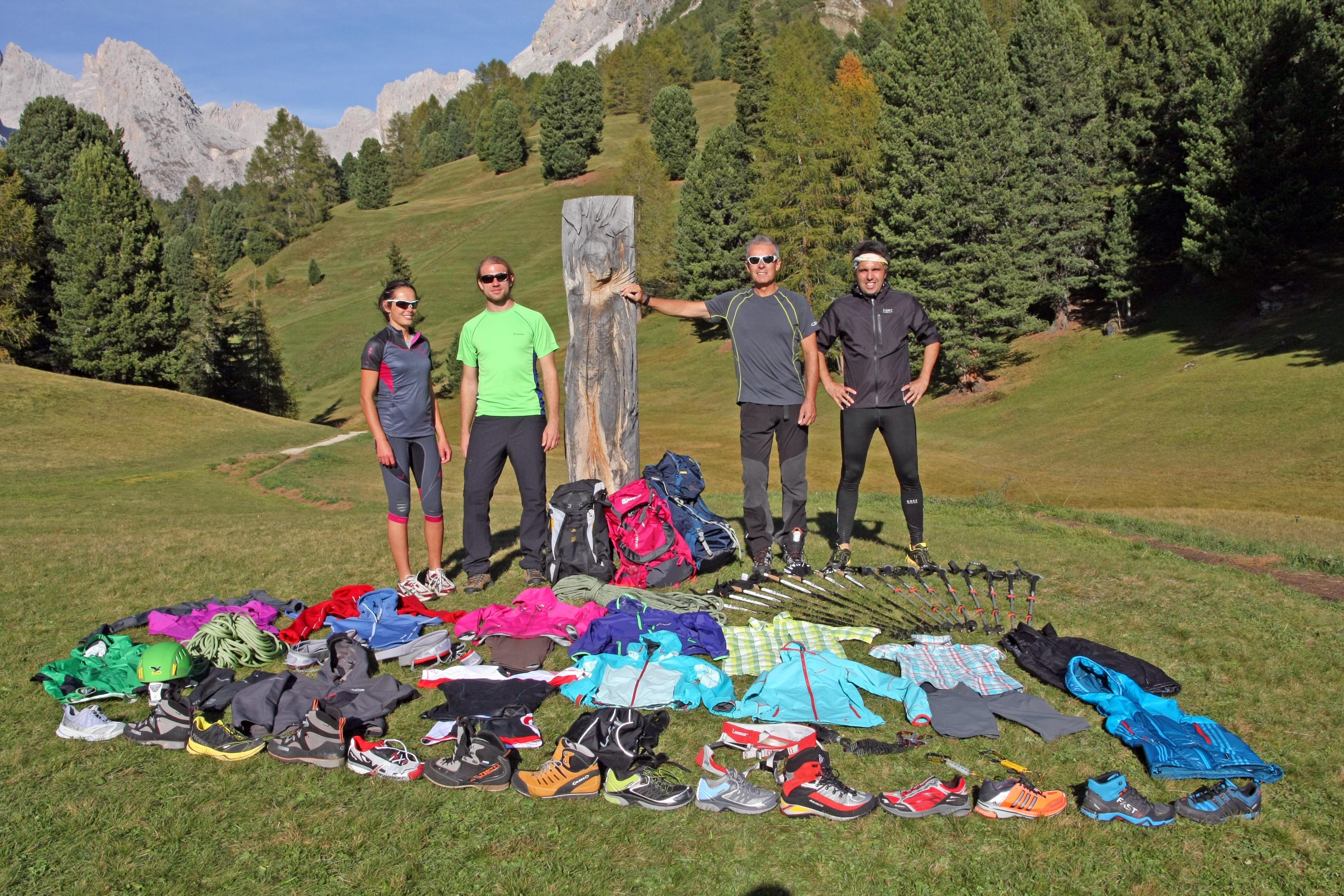 Outdoortest, online i test dei prodotti per il trail running, estate 2012