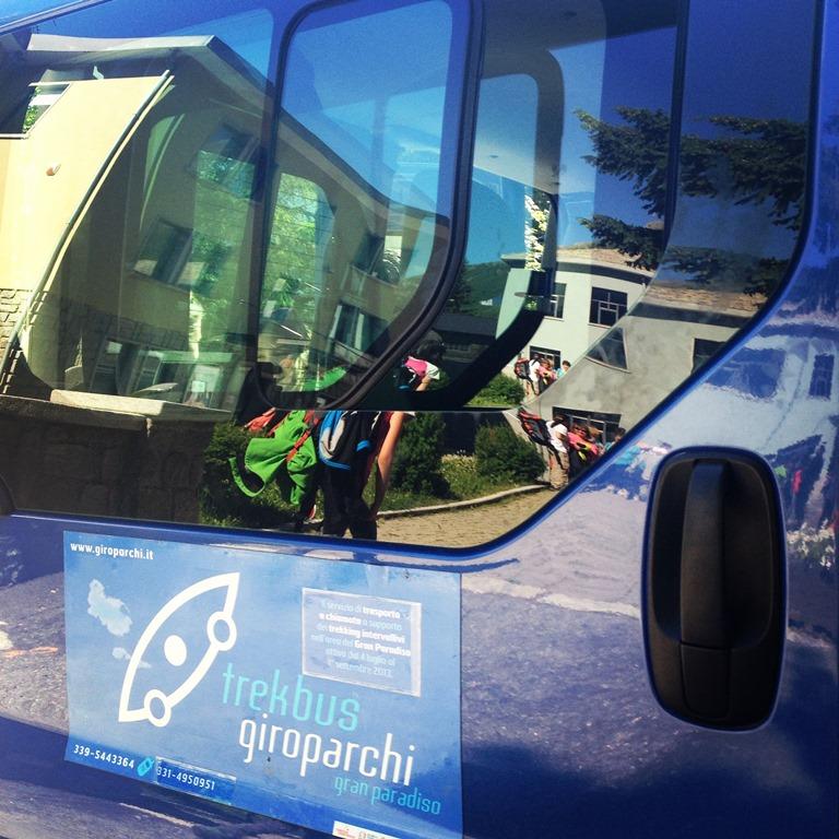 TrekBus Giroparchi, servizio di trasporto intervallivo per gli escursionisti del Parco Nazionale Gra