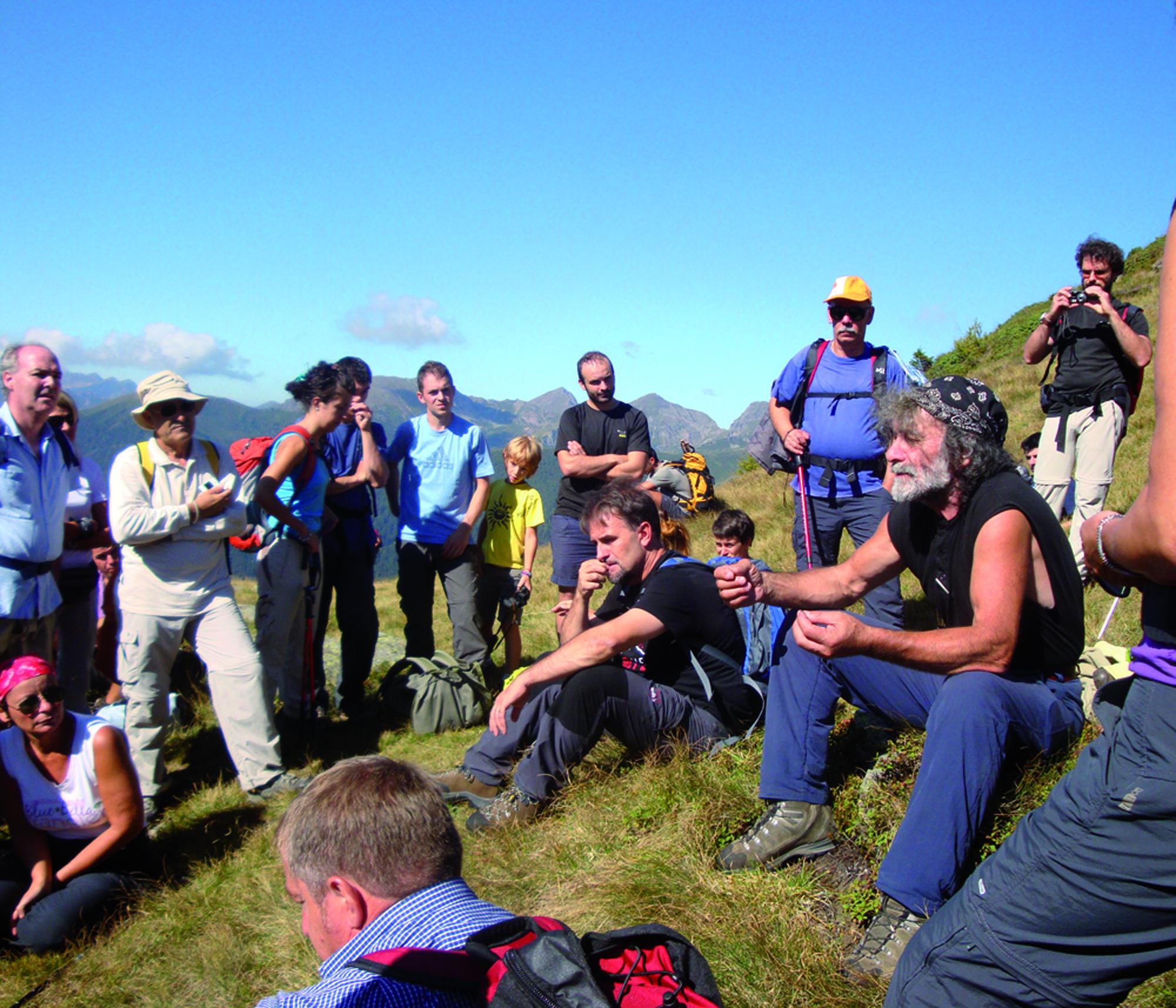 Trekking con l'autore 2012, appuntamento in Valsugana