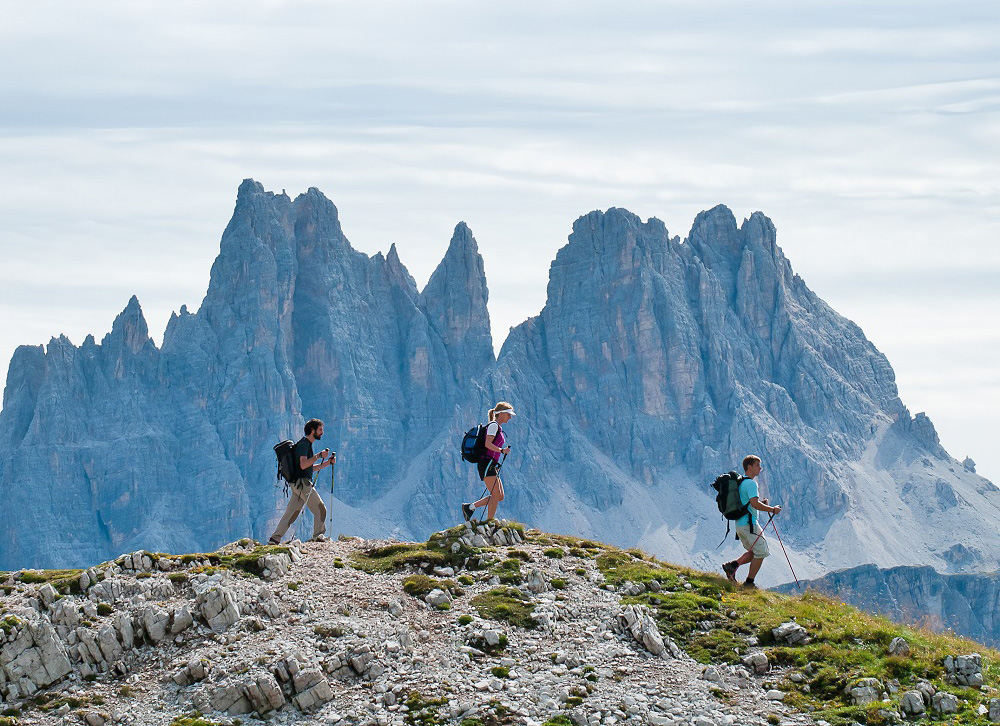 Hiking e trekking a Cortina