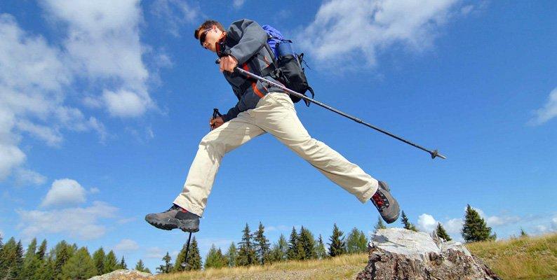 Trekking sui monti di Villach