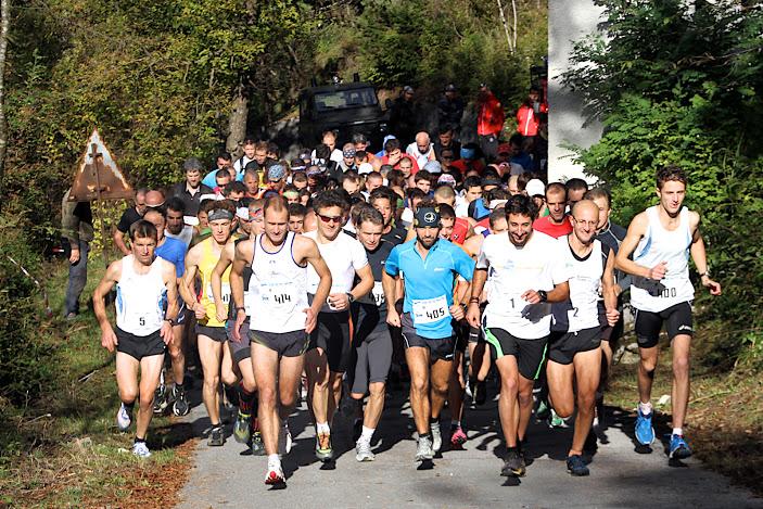 Corsa, Trofeo Monte Schiara 2012: classifiche