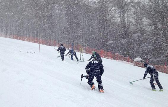 E' Inverno a Ushuaia e l'Italia dello sci continua gli allenamenti