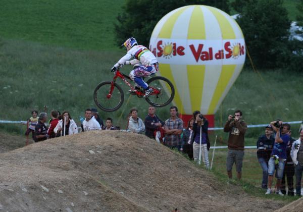 Coppa del Mondo MTB Downhill, successo in Val di Sole
