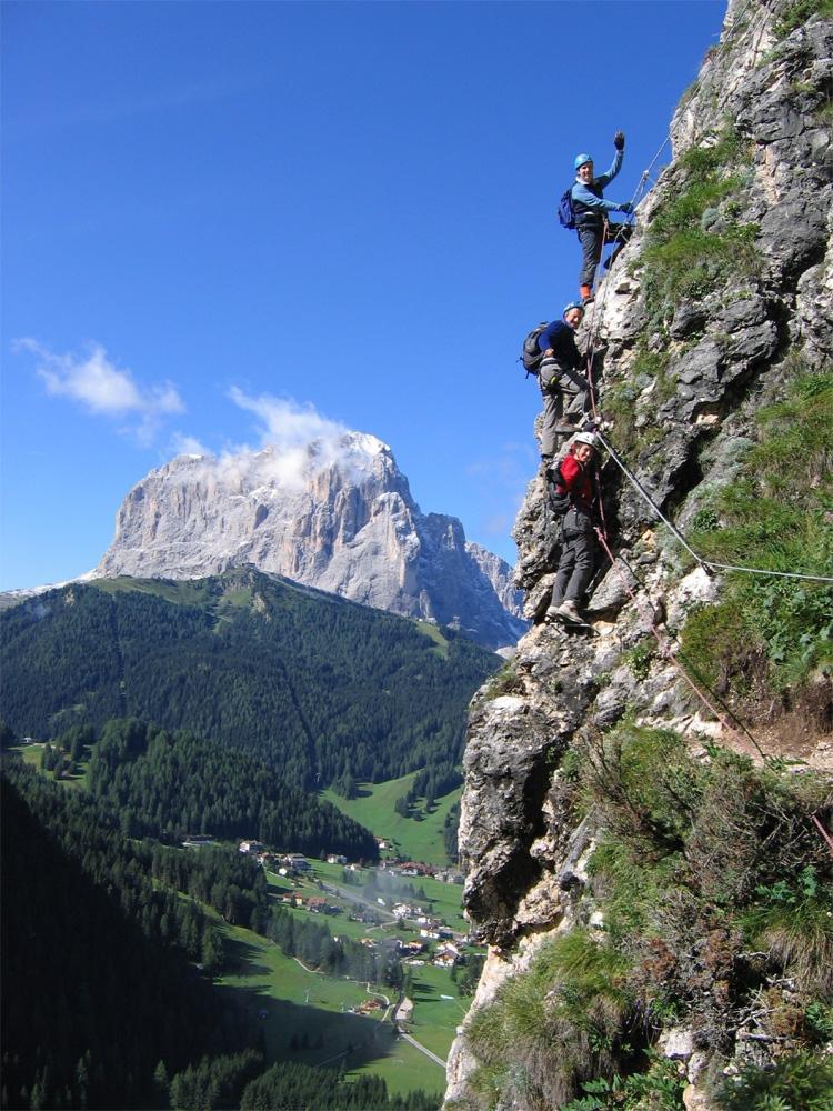 In Val Gardena la Settimana Alpina 2013: alpinismo, trekking, vie ferrate