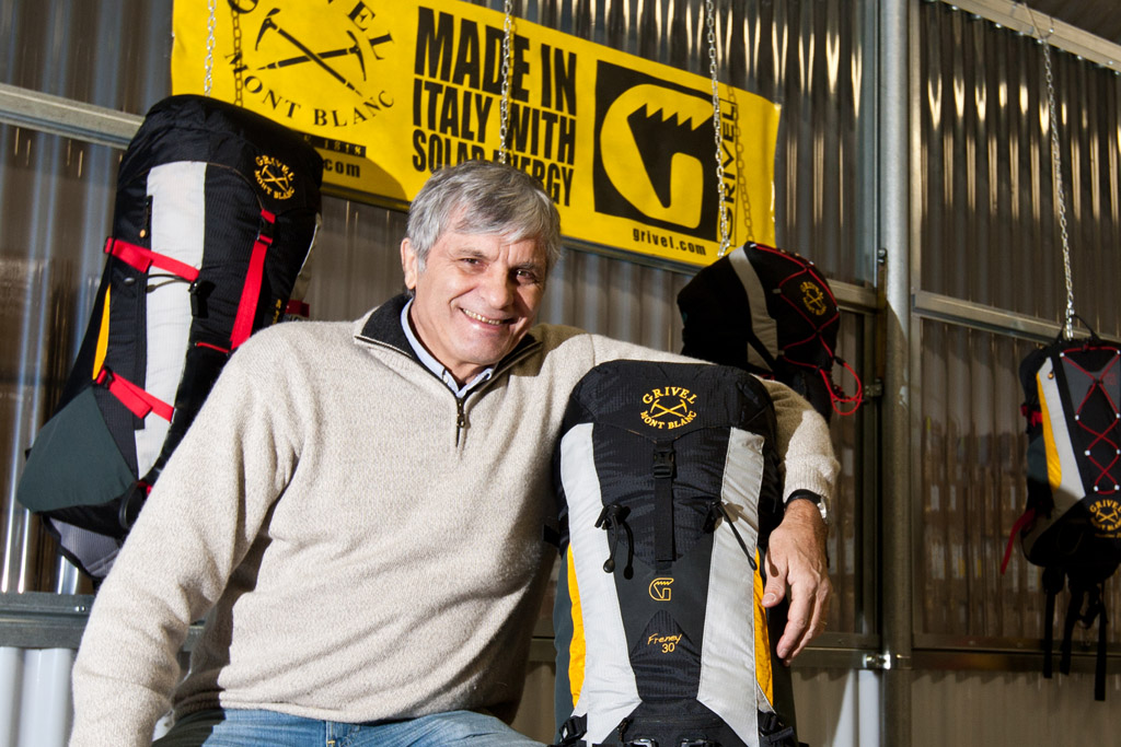 Grivel presenta i nuovi sacchi per alpinismo firmati Walter Cecchinel