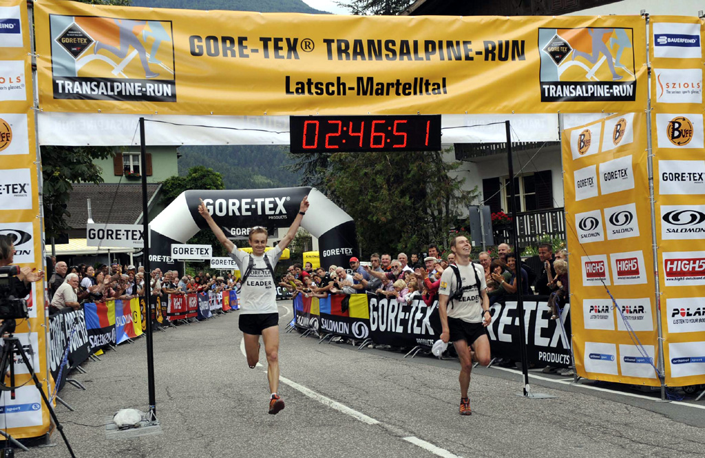 Gore Tex Tm Transalpine Run 2009: trionfo azzurro