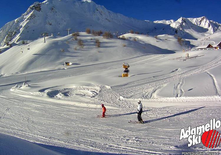 La grande nevicata di Natale sulle Alpi