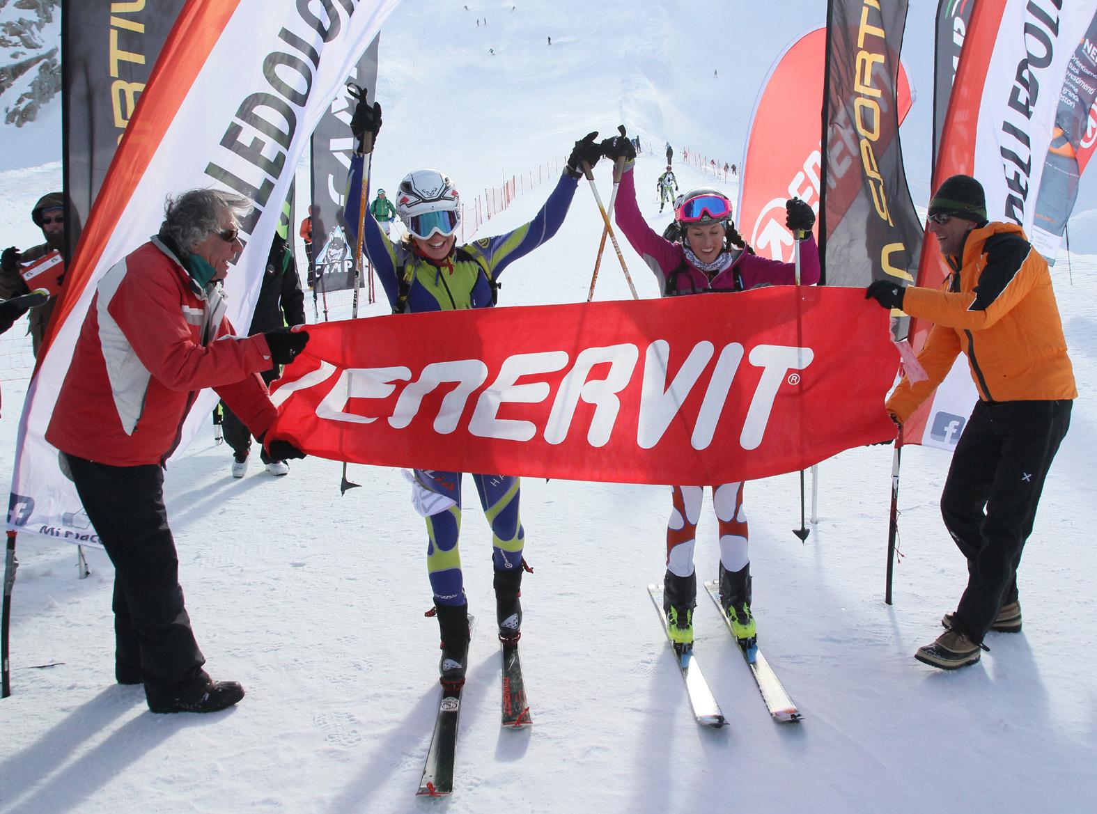 Adamello Ski Raid Junior, vince la coppia valtellinese con Nicolò Canclini e Andrea Prandi