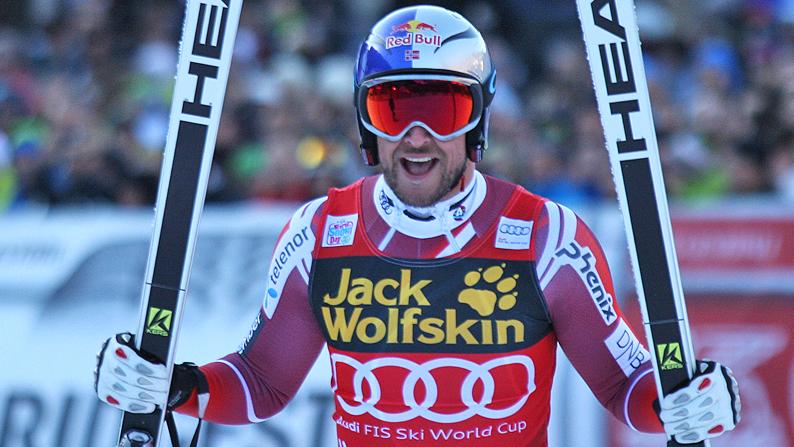 Val Gardena: Aksel Lund Svindal vince la discesa libera