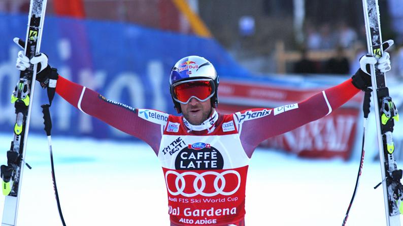 Svindal, Jansrud, Kilde: tre norvegesi supergiganti in Val Gardena