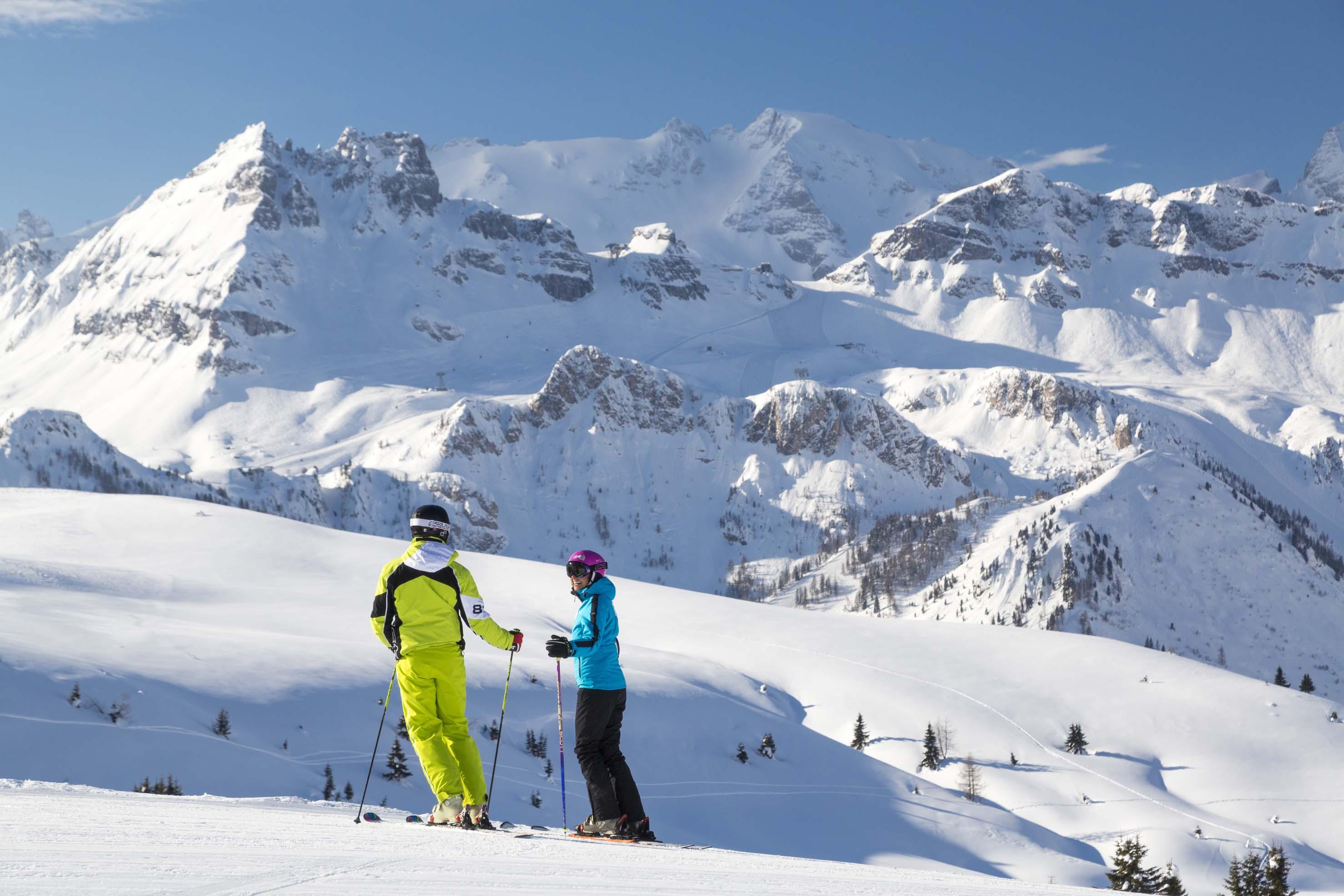 Sciare ad Arabba