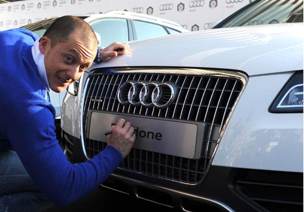 Gli atleti FISI viaggiano in Audi
