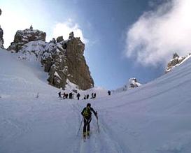 Sulle Dolomiti Friulane la ski alp Memorial Claudia Corisello