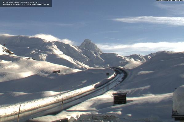 Neve sulle Alpi: scenari immacolati