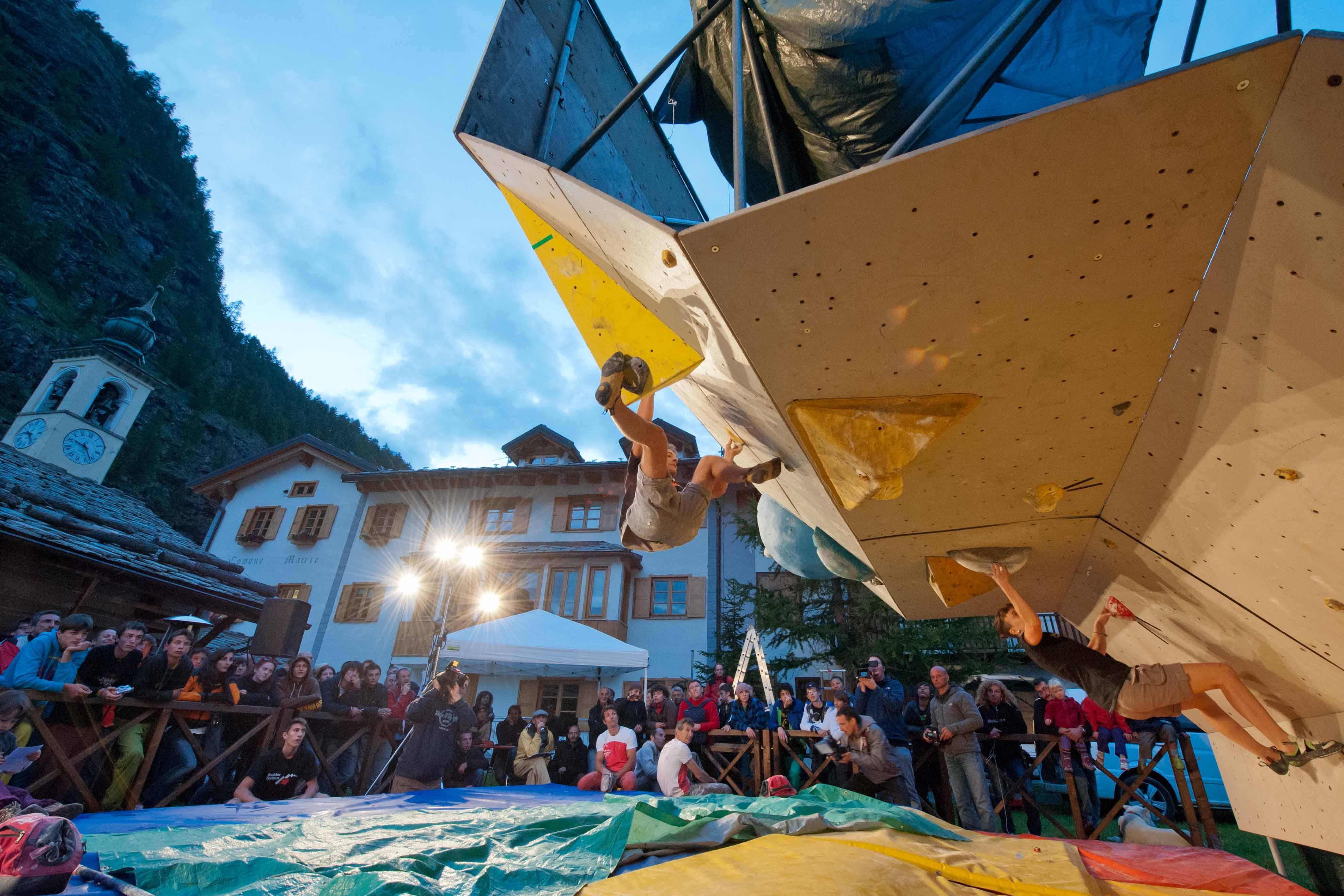 Il Forte di Bard Boulder Contest a Gressoney-La-Trinité