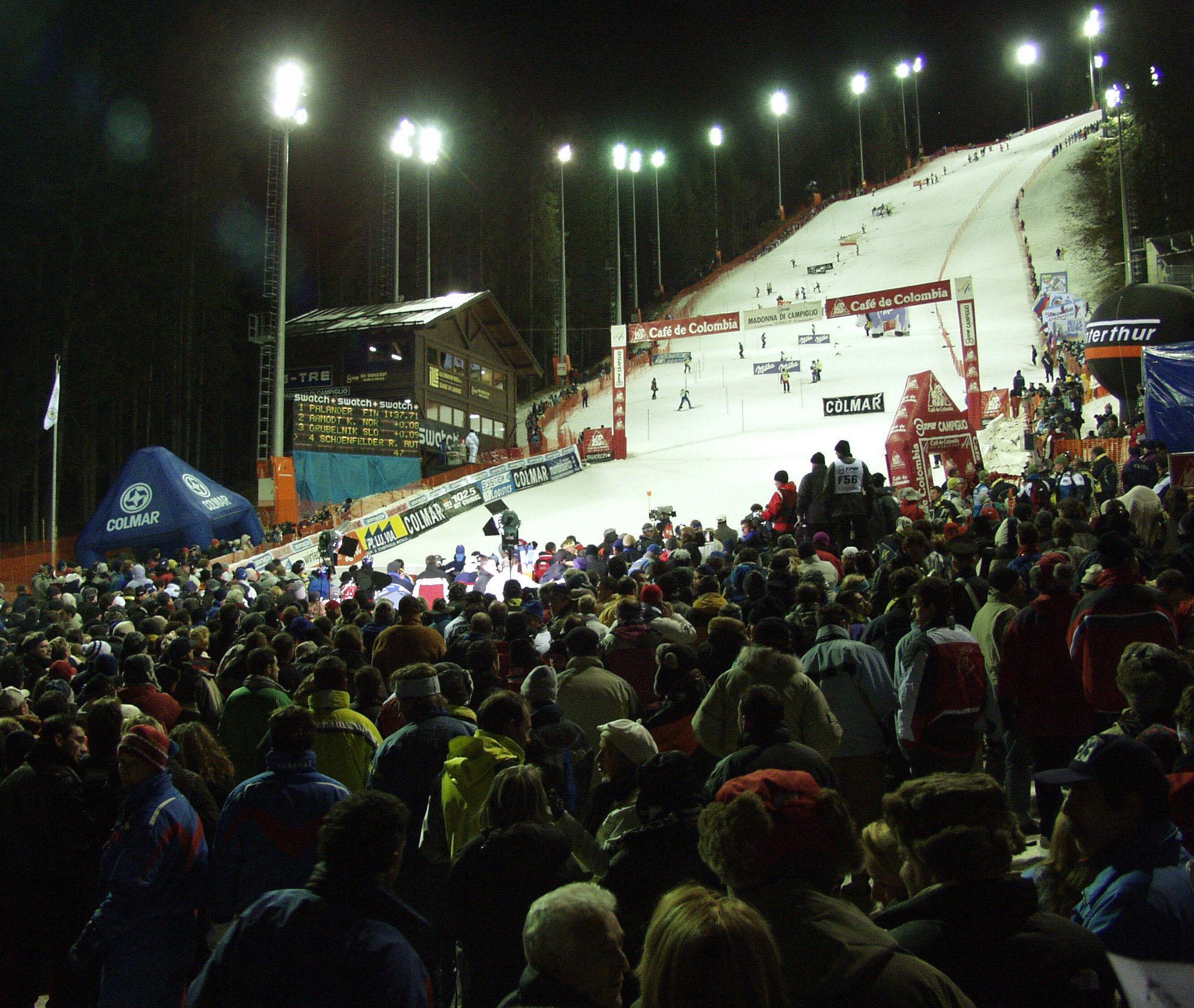 Sci alpino sulla mitica pista 3-Tre: aggiornamenti da Madonna di Campiglio
