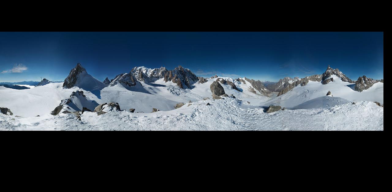 Monte Bianco: la fotografia più grande del mondo