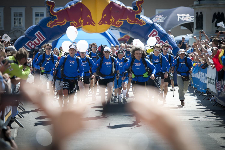 Red Bull X-Alps 2013, running e parapendio estremi