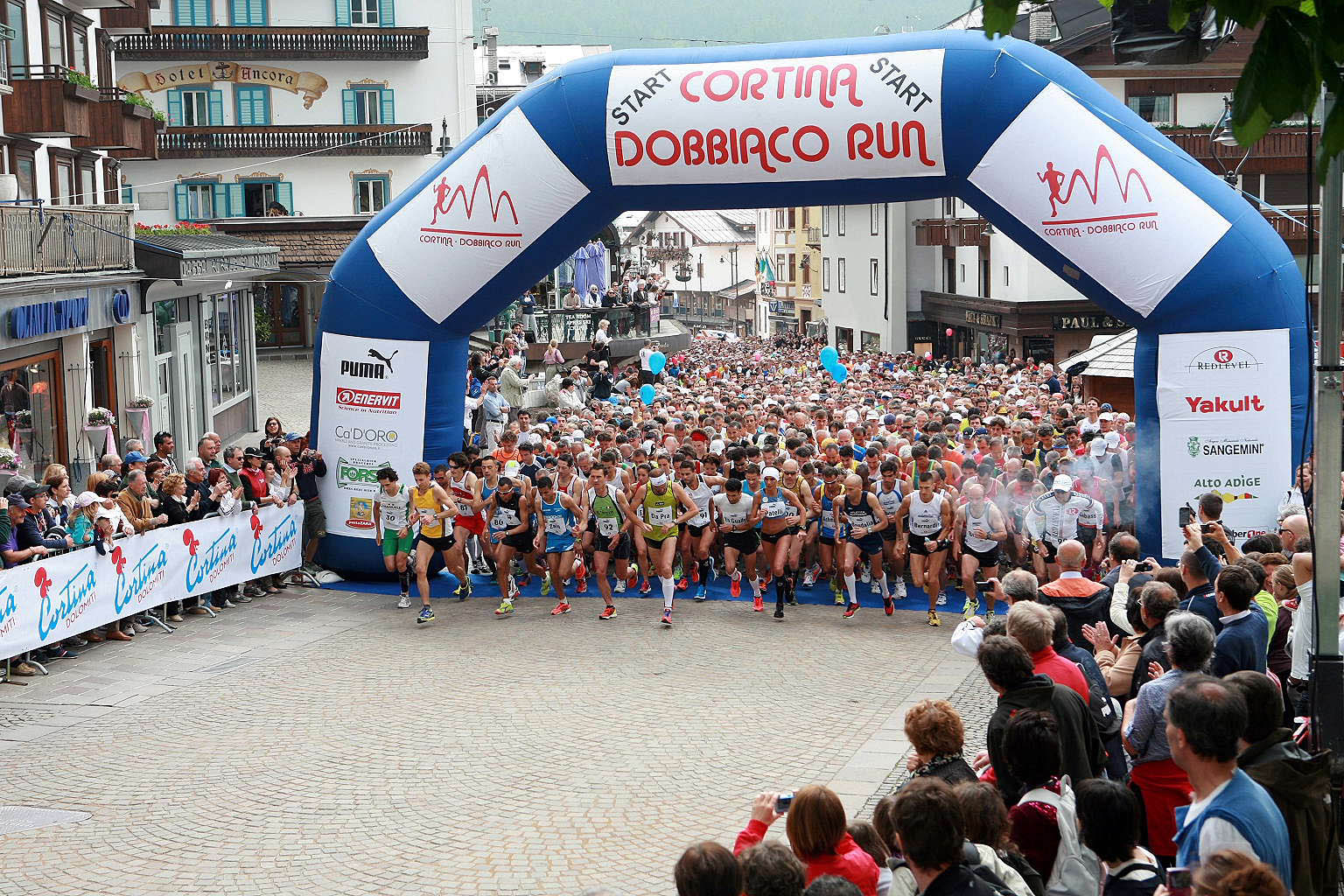 Cortina Dobbiaco Run 2012, le classifiche