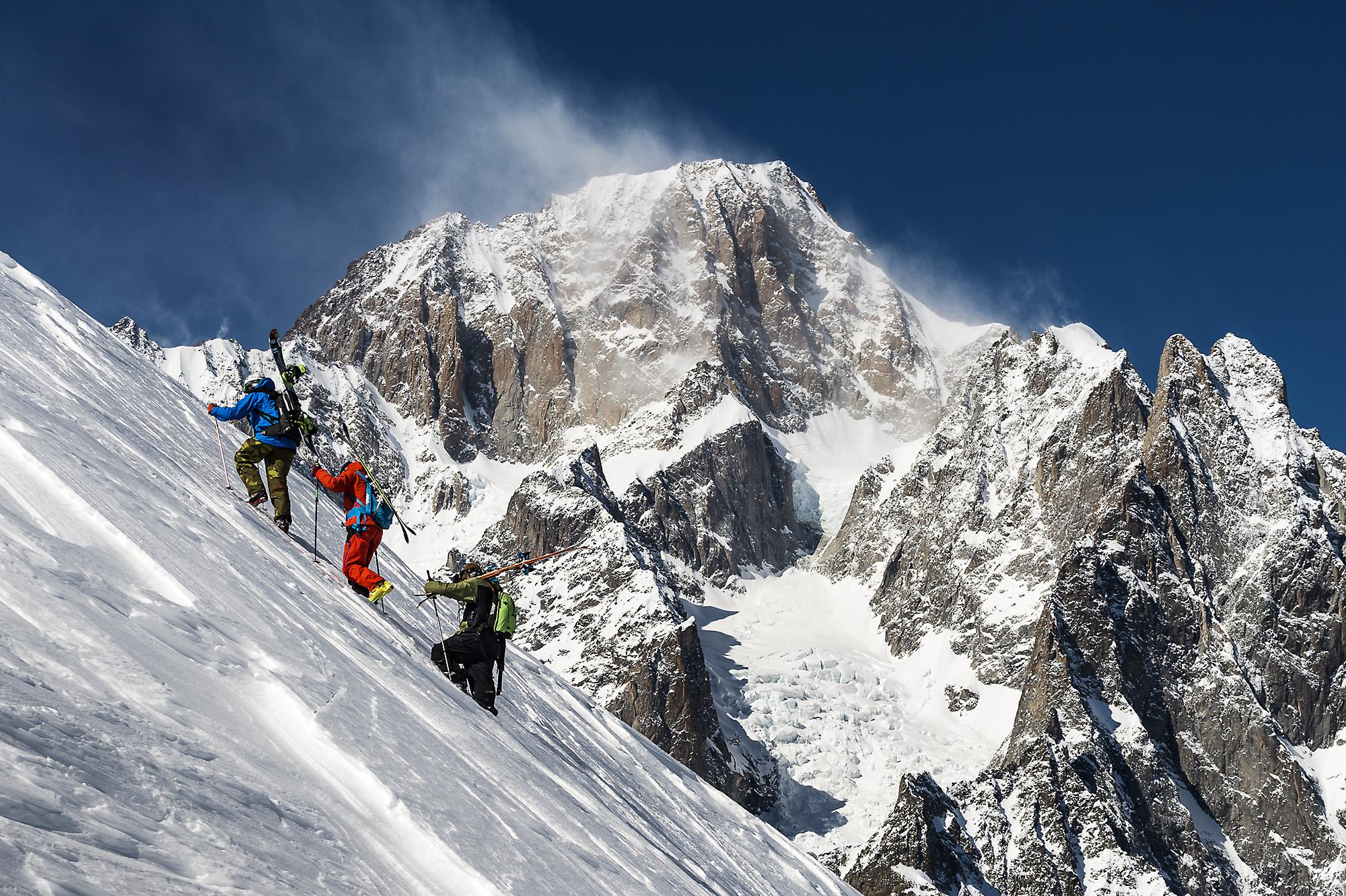 Foto e video freeride con Click On The Mountain
