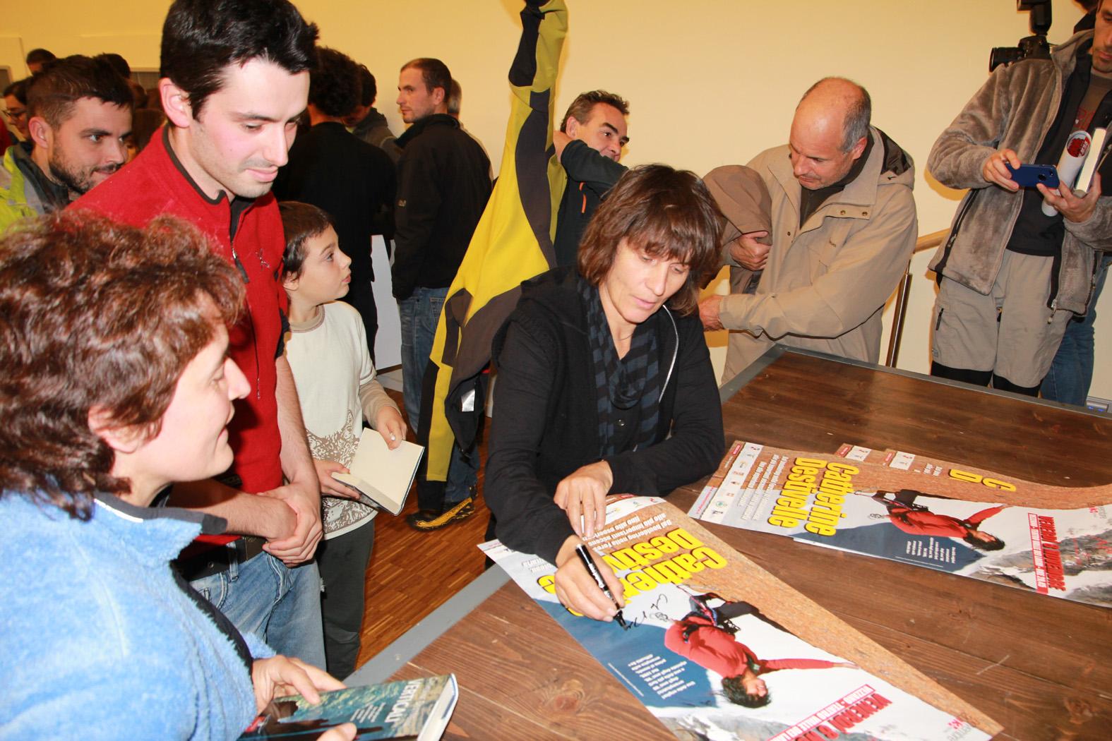 Mese Montagna: Catherine Destivelle fa il tutto esaurito a Vezzano